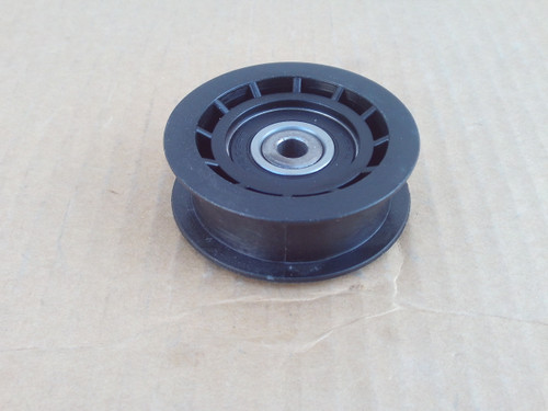 """Flat Idler Pulley for Exmark Quest 1062176, 106-2176, ID: 3/8"""", OD: 2-3/4"""", Height: 1-1/4"""""""
