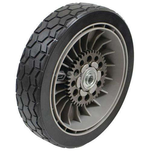 Rear Drive Wheel for Honda HRR216K6VXAA, HRR216K7VXAA, HRX217HMA, HRX217HXA, HRX217TDA, HRX217K1HMA, HRX217K1HXA, HRX217K1TDA, HRX217K1VKAA, HRX217K2HMAA, HRX217K2HXAA, HRX217K2VKAA, HRX217K3HZAA, HRX217K3VKAA, HRX217K4HYAA, 42710VH7000ZA, 42710VH7010ZA