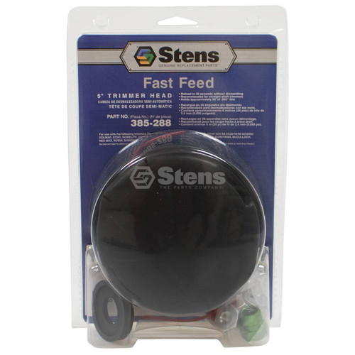 String Trimmer Head for Red Max BC2DWM, BC17, BC23, BC32, BC200, BC220DL, BC225CL, BC250, BC254A, BC260DM, BC260DMU, BC260DL, BC261DL, BC262DL, BC300DL, BC340DL, BC341DL, BC342DL, BC430DWM, BC431DWM, BC440DWM