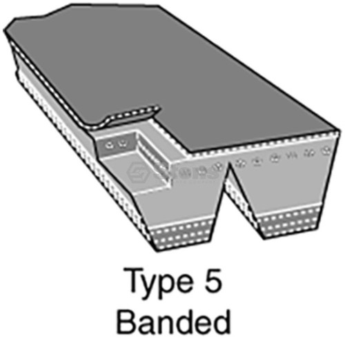 PTO Belt for WaBelt for Stihl 42231901001, 4223 190 1001lker C, T, 8230 lawn mower
