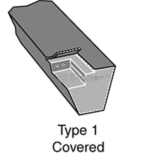 "Deck Belt for Wright Mfg Stander ZK, 61"" Cut 71460067"