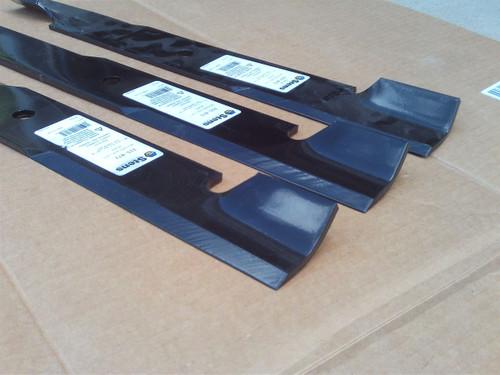Blades for Snapper 101733, 1520842, 1-7081, 5020842, 5020842ASM, 5101755, 7017081, 7075770, 7075770BZYP, 7075770YP, Pro, Set of 3