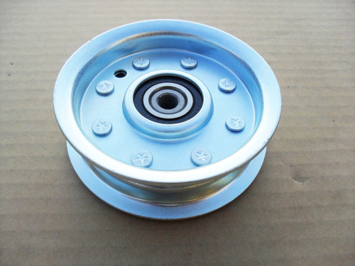 """Deck Idler Pulley for MTD 756-04280A, 756-0542, 75604280A, 7560542 ID: 3/8"""", OD: 4"""", Height: 1"""""""