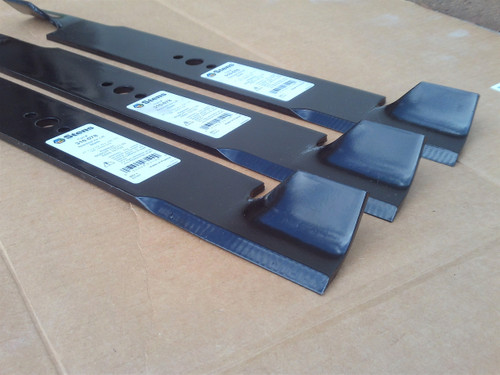 """Blades for Snapper 61"""" Cut 1520842, 17081, 5020842, 5020842ASM, 7017081, 7075770, 7075770BZYP, 7075770YP, 1-7081 Set of 3 Air Lift"""
