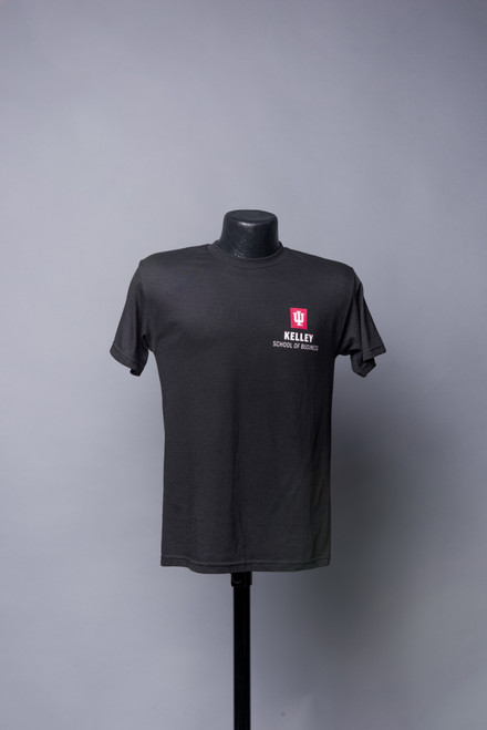 BLACK UNISEX SHORT SLEEVE TEE ALSO AVAILABLE IN HEATHER GREY AND RED