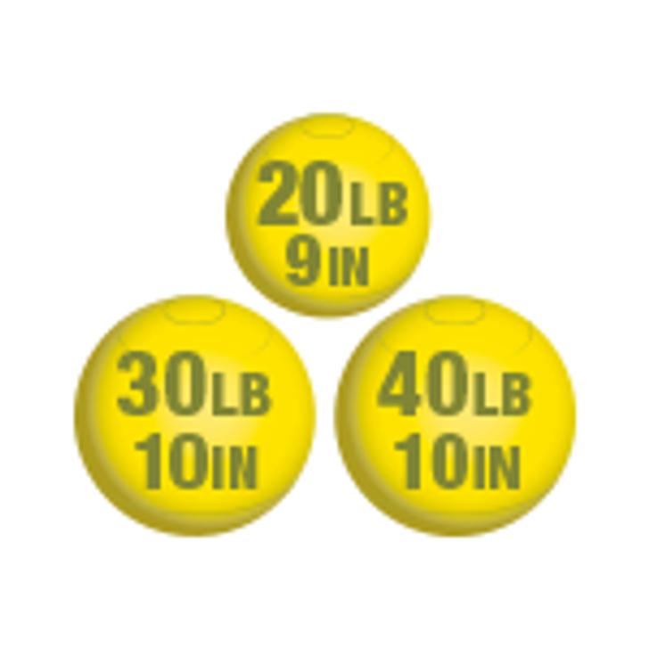 Light Weight Set - Yellow