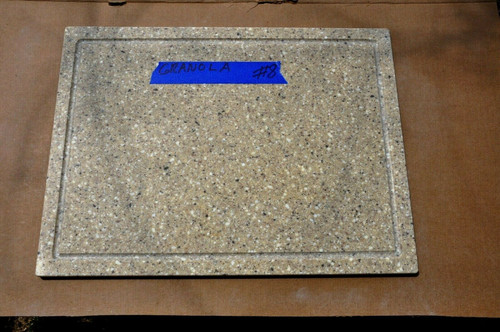 corian cutting board juice slot