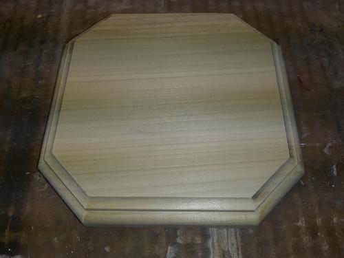 Wood  Plaque Sign base Trophy Mount