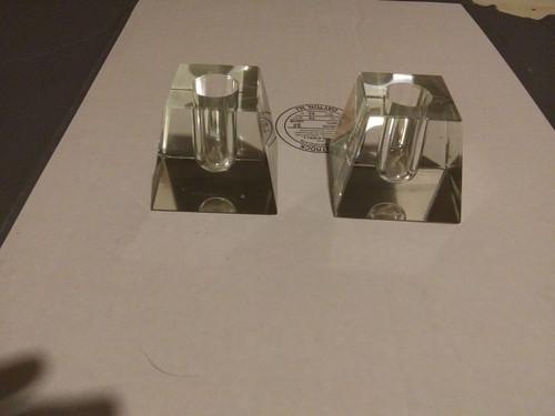 Houze  Glass  Crystal Candle Holder