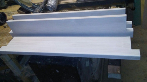 Replace old rotted out window wood sill double hung