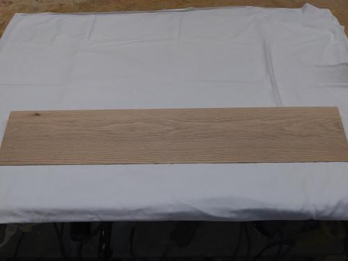 36 inch  unfinished oak threshold for door way floor transition