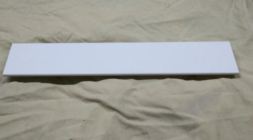 corian shelf 4 inch wide