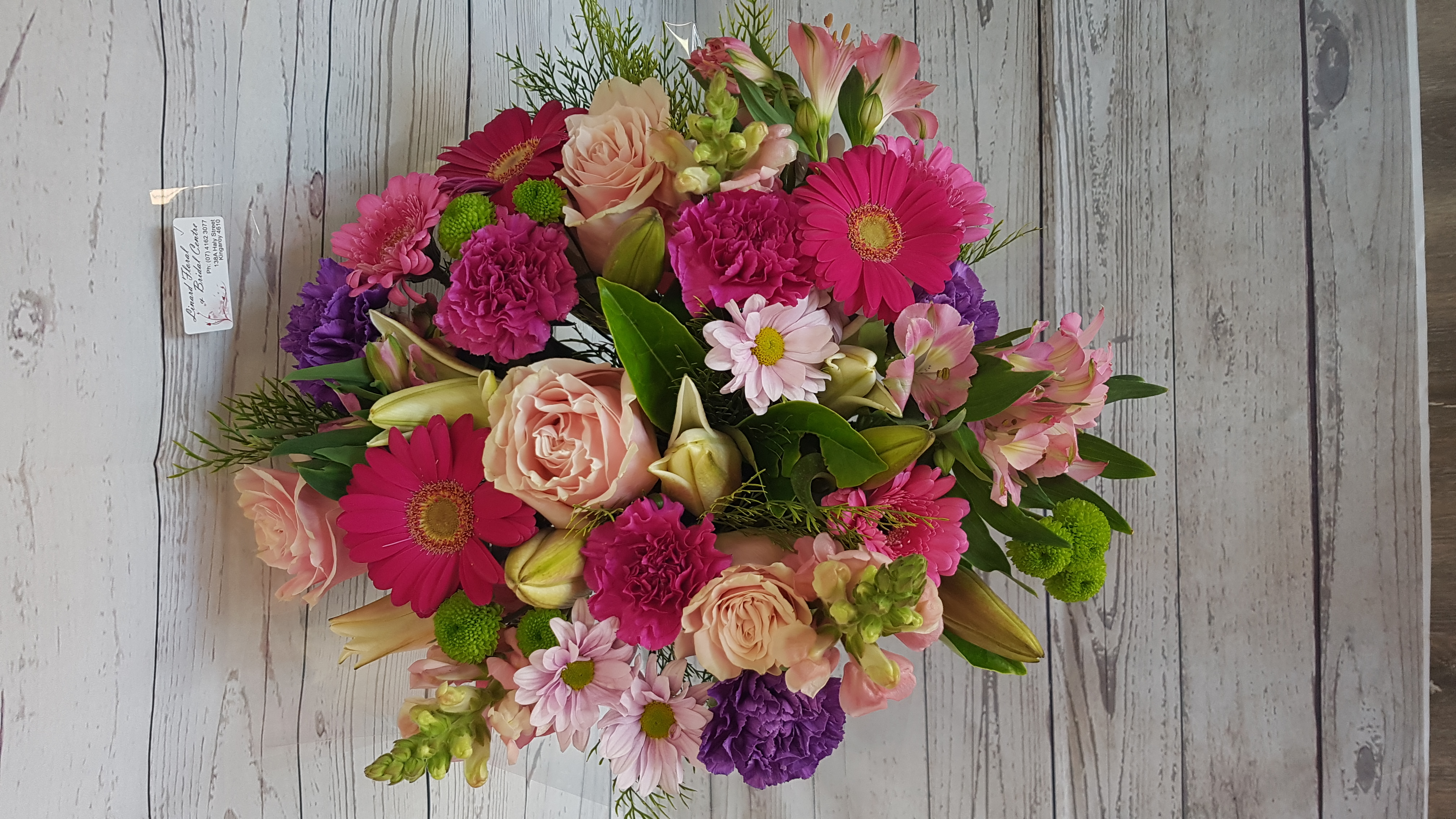 A  stunning bouquets of blooms, sure to impress.