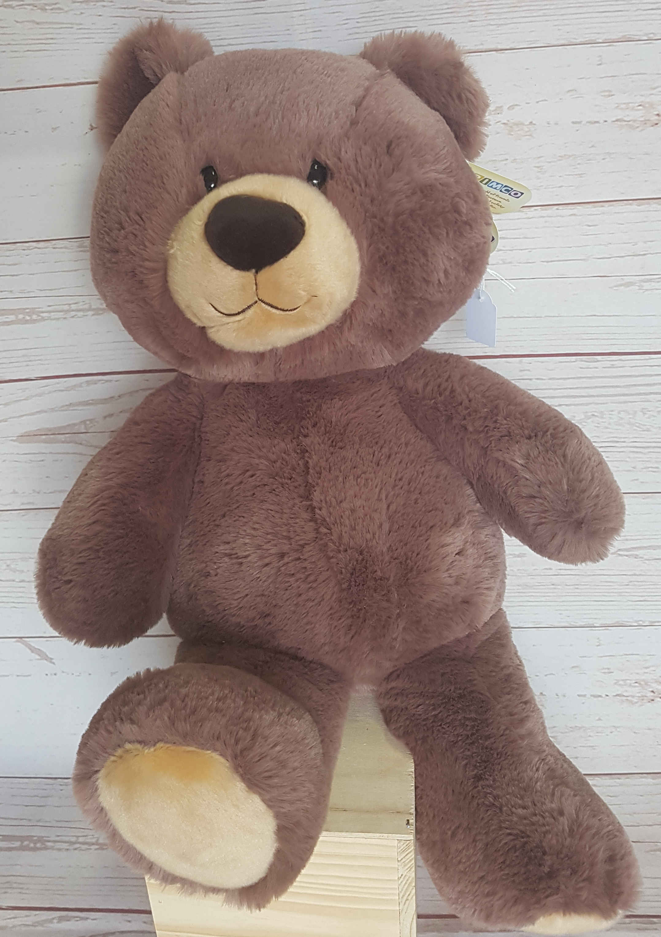POOKIE, A MEDIUM BEAR,  SOFT AND CUDDLY, SUPER CUTE LET POOKIE BRING SOME BEAR CUDDLES INTO THE RECIPIENTS LIFE. .