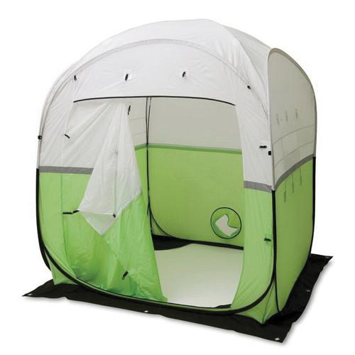 Allegro® 9403-66 Economy Work Tent, 6 ft L x 6 ft W x 7 ft H, Vinyl, High-Visibility Green