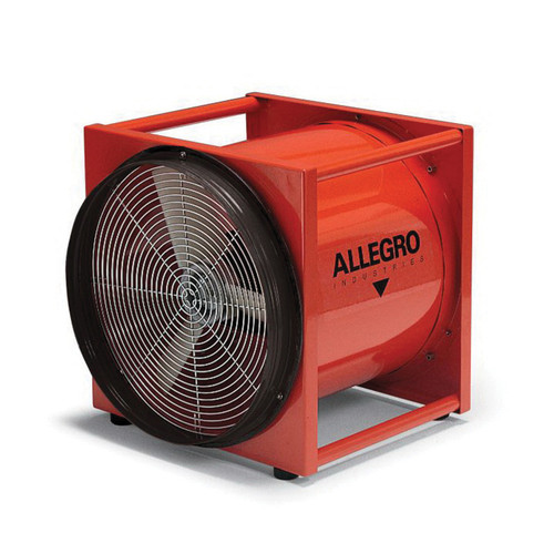 Allegro® 9525-01 Axial Explosion Proof Ventilation Blower, 20 in Duct, 4650 cfm, 115 to 230 VAC - 9525-01