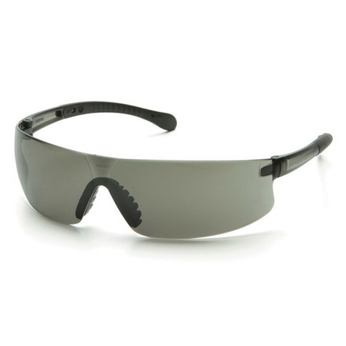 Pyramex® Provoq® S7220S Scratch-Resistant Lightweight Safety Glasses, Universal, Gray Frame, Gray Lens