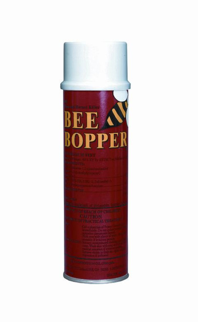 ARI Bee Bopper II 61011 Wasp and Hornet Spray, 14 oz Can, Liquid, Pale Yellow Tint