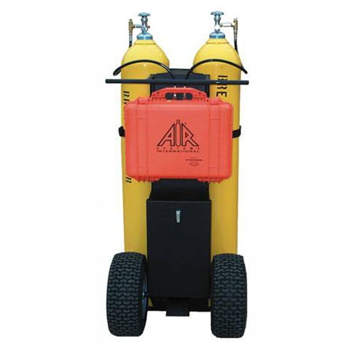 Air Cylinder Cart/Dolly without Regulator and Manifold - RENTAL