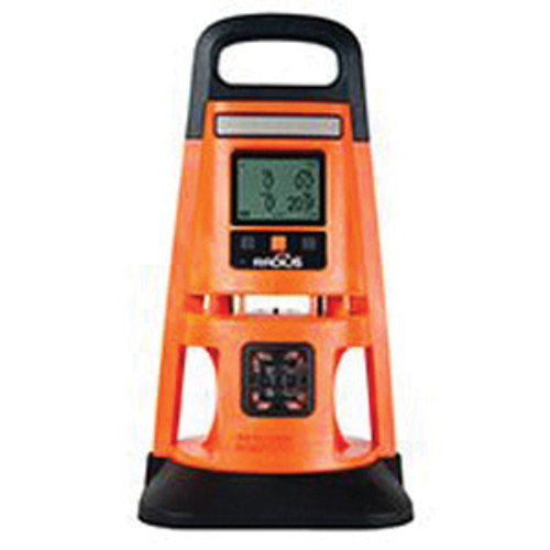 Industrial Scientific Radius® BZ1 Multi-Gas Detector, 0 to 1500 ppm CO, 0 to 500 ppm H2S, 0 to 30% O2, 0 to 100% LEL