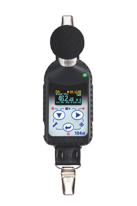 Svantek SV104IS Dosimeter W/10 Units/Mic/2X5 Port Dock, Calibrator/Case