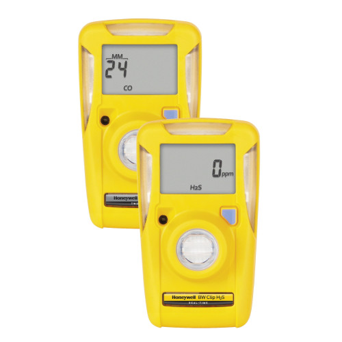 BW Technologies BW Clip Single Gas Detector, O2, 0 to 25% Volume