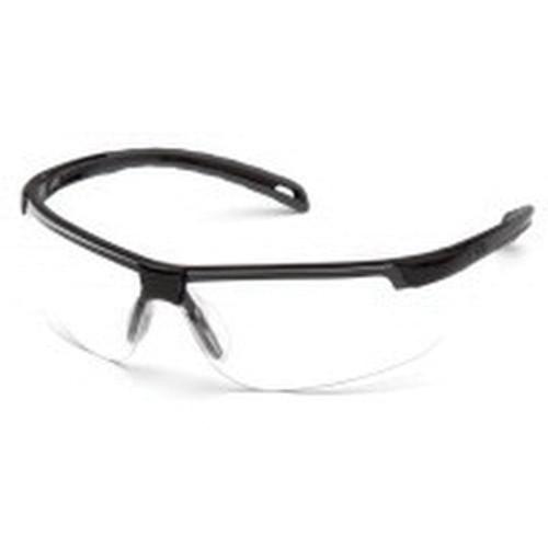 Pyramex® Ever-Lite® SB8610R15 Scratch-Resistant Lightweight Reader Glasses, Universal, +1.5 Diopter, Black Frame, Clear Lens - SB8610R15