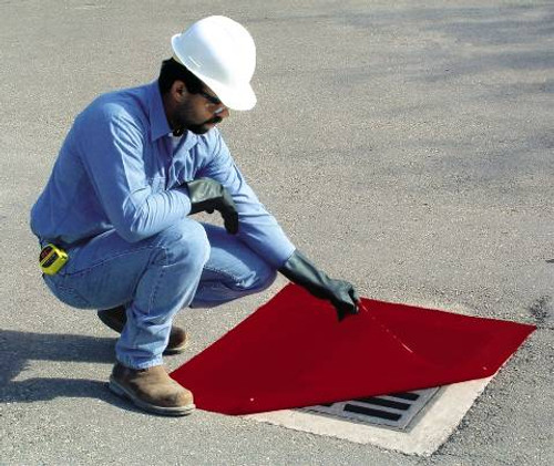 """DrainProtector® II Safety Seals, 18"""" X 60"""" Rectangle"""