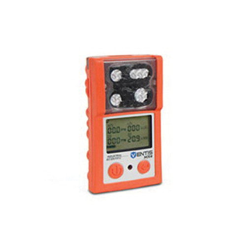 Industrial Scientific Ventis MX4 VTS-K1231101101 4-Gas Portable Monitor, 0 to 100% Combustible Gas, 0 to 1000 ppm CO, 0 to 500 ppm H2S, 0 to 30% O2