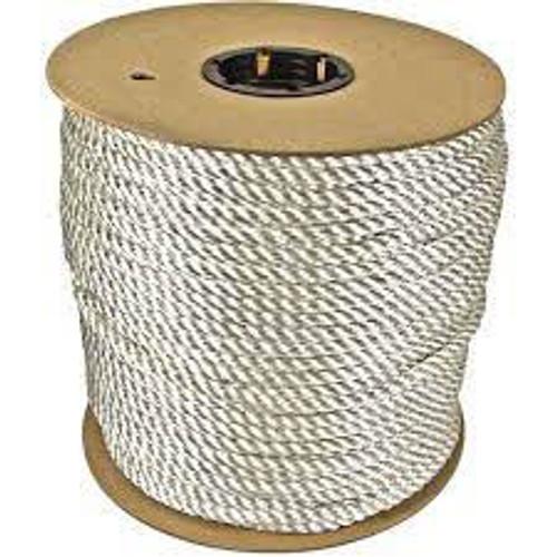 Rope, 600ft, Wht, 1430lb., Nylon - 430240-WHT-00600-05131