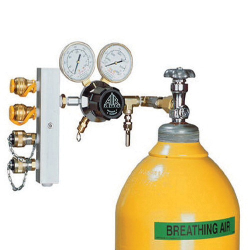 AIR® HP-CW1-346 Breathing Air Manifold, 3000 psi for Breathing Air Cylinders