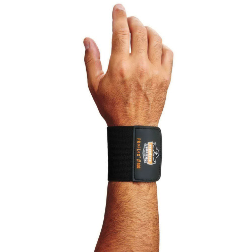 ProFlex® 400 Wrist Wrap, Universal, Elastic, Black - 72102