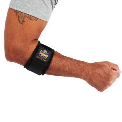 ProFlex® 500 Elbow Support, XS, Nylon Laminated Neoprene, Black