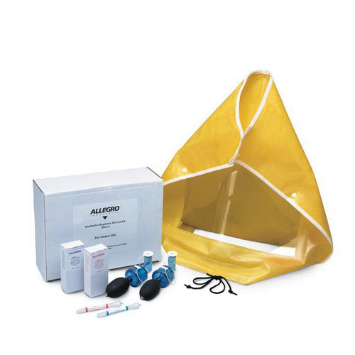 Allegro® 2041 Fit Test Kit, Poly Coated Hood, Buna-N Nebulizer for Disposable and Reusable Dust and Mist Respirators