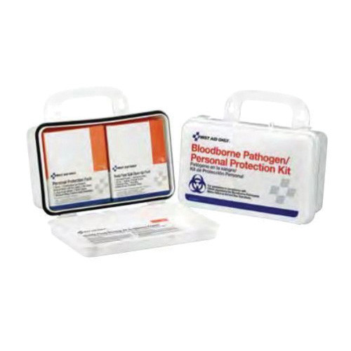 First Aid Only® 3060-BBP Unitized Spill Clean Up Kit, 4-1/2 in H x 2-3/4 in W x 7-1/2 in D, 30 Number of Components
