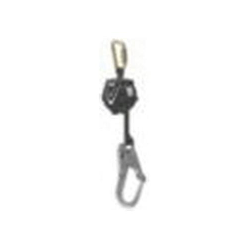 MSA V-SHOCK™ 64013-00A Single Leg Personal Fall Limiter, 310 lb Load Capacity, 10 ft - 64013-00A