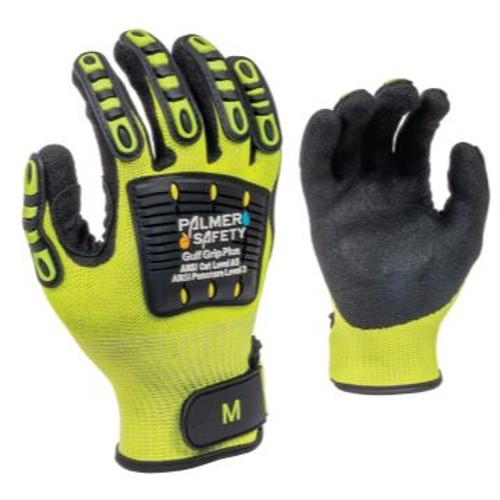 Gulf Grip Plus Glove w/ Velcro Strap, Size 3XL