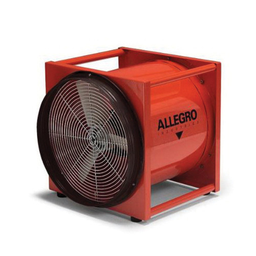 Allegro® 9515-01 Axial Explosion Proof Ventilation Blower, 16 in Duct, 2900 cfm, 115 to 230 VAC