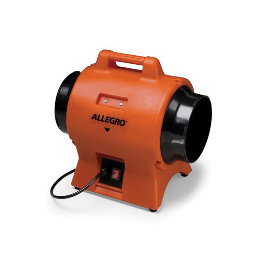 Allegro® 9539-08 Axial AC Industrial Blower, 8 in Duct, 865 cfm, 115 VAC