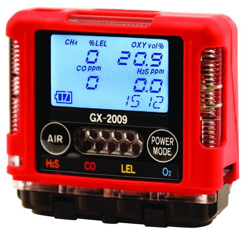 RKI GX-2009 O2, LEL, CO, H2S Monitor, Diffusion - RENTAL
