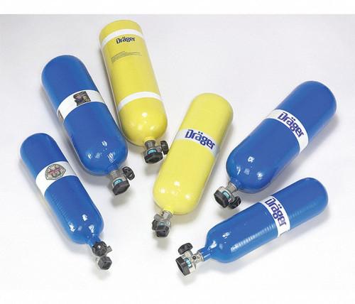 SCBA Cylinders with Valve, 4500 PSI Carbon Composite Cylinder, 60 min - RENTAL