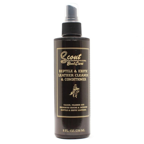 Scout Reptile & Exotic Leather Cleaner & Conditioner 8oz