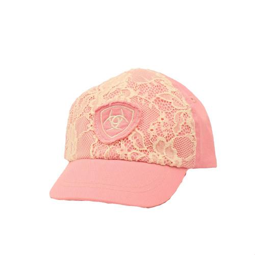 Ariat Infant Lace Pink Cap