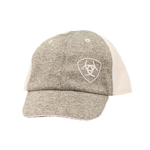 Ariat Infant Heather Grey Cap with Offset Logo