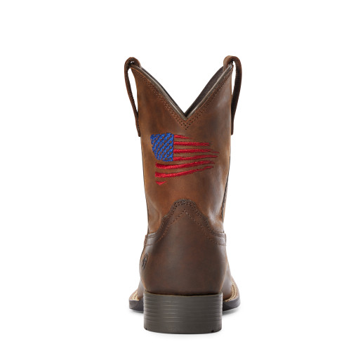 Ariat Youth Patriot II Distressed Brown - 10034408