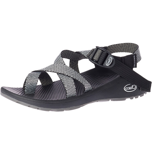 Chaco Women's Wide Width ZCloud 2 Sandals - Excite Black & White