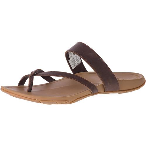 Chaco Women'sCoast Leather Sandals - Cognac