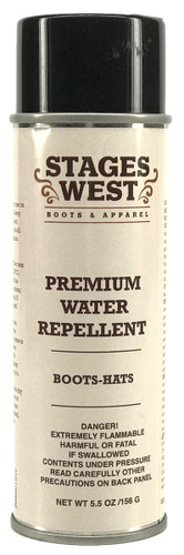 Stages West Water & Stain Repellent Spray for Boots & Hats