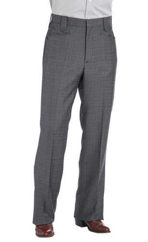Circle S Men's Dress Ranch Pant - Grey
