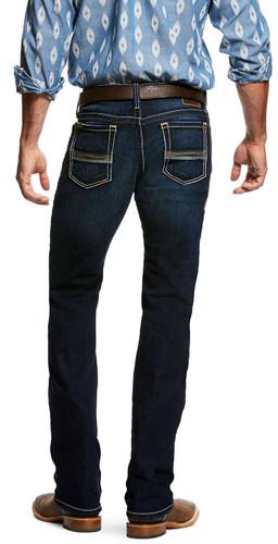 Ariat Men's M7 Rocker Straight Leg Jean - Blue